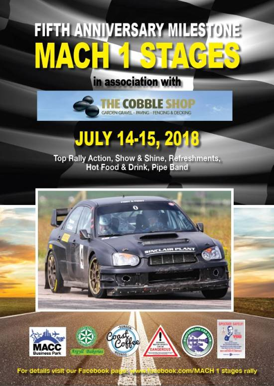 MACH1 Stages Rally 2018