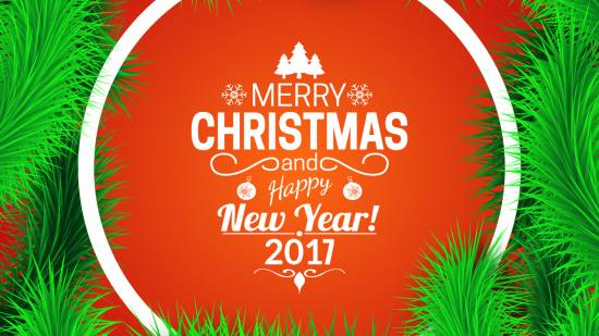Christmas & New Year 2017